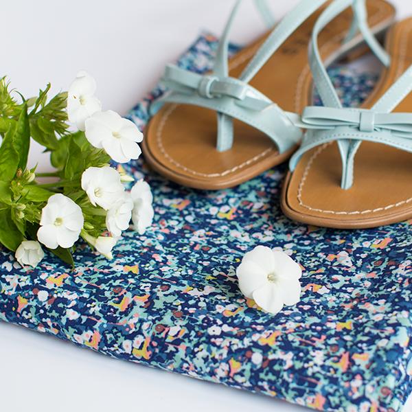 Afbeelding van Flowers - Blauw