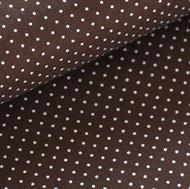 Afbeelding van Kleine witte stipjes - S - Bruin