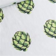 Image de Artichoke - Cotton Lawn - Vert Aube