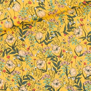 Picture of Summer Flowers - S - Lycra - Dooiergeel