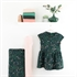 Bild von Flower Garden - M - Baumwolle Gabardine Twill - Dunkelstes Fichtengrün